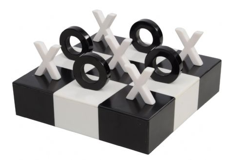 Nov Promo - Black And White Noughts and Crosses