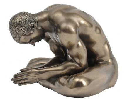Keswick Meditating Man
