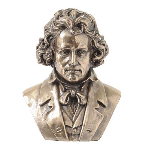 Millbeck Bronze Finish Beethoven Sculpture