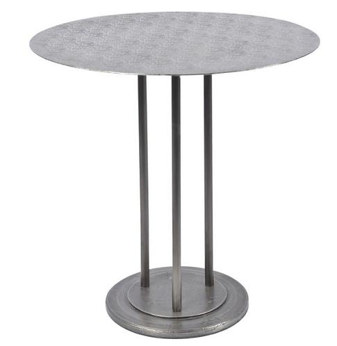 Brunswick Round Iron Dining Table