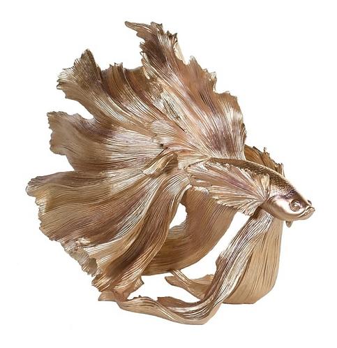 Golden Fan Tail Fish
