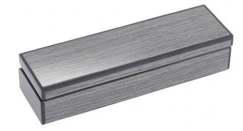 Lismore Grey Gloss Cufflink Box