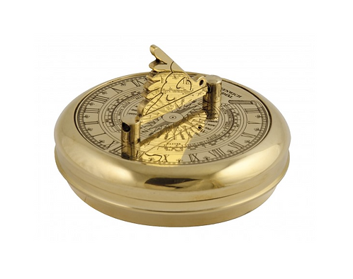Brass Greenwich Pocket Sundial