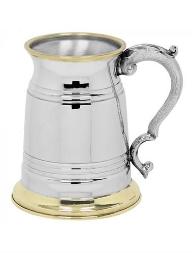 1 Pint Pewter Tankard (Brass)