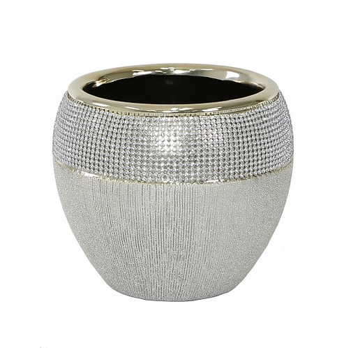 Champagne Textured Plant Pot