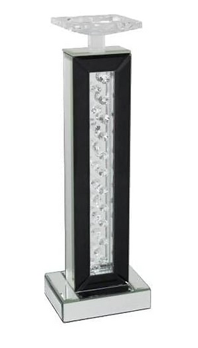 Astoria Black Mirror Large Candle Holder