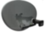 SKY _ Freesat 43cm ZONE-1 MK4 & Quad LNB
