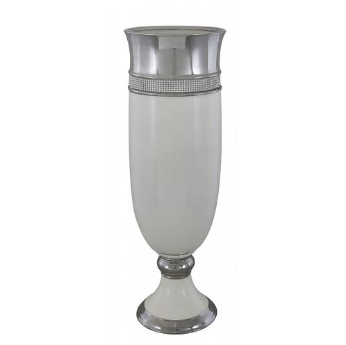 Cream Manhattan Large Vase