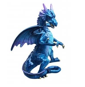 Blue Standing Dragon