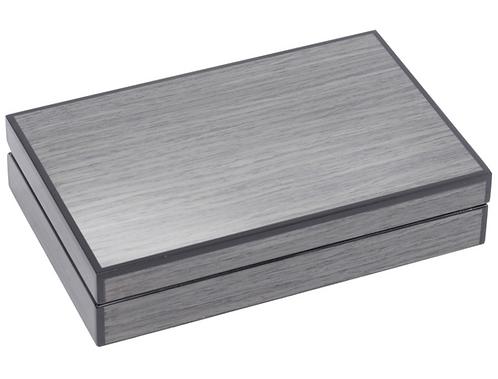 Lismore Grey Gloss Card Box