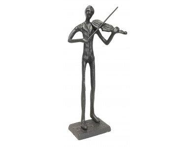 Violin Playing Figurine