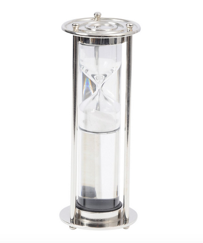 Fincham Small Nickel Liquid Sandtimer