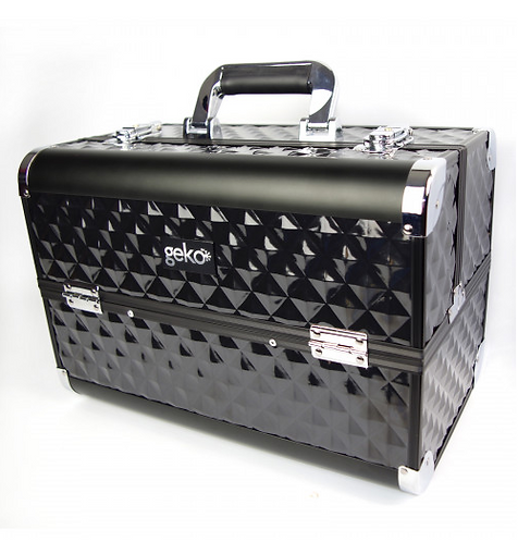 Vanity Case / Makeup Box Heavy Duty Black