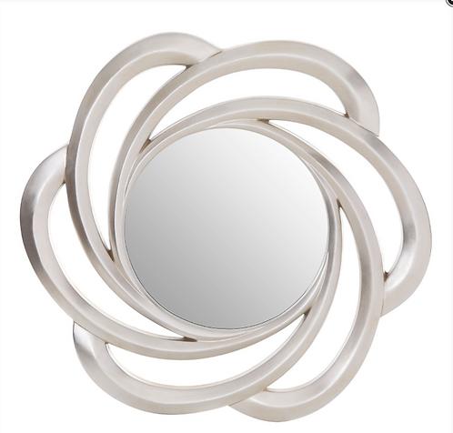 Fleur Silver Wall Mirror