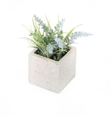 Artificial  Miniature Blue Lavender Plant