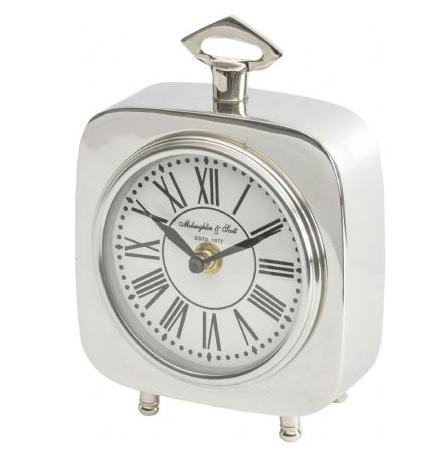 Austin Square Nickel Carriage Clock