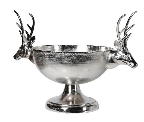 Extra Large Stag Head Bowl