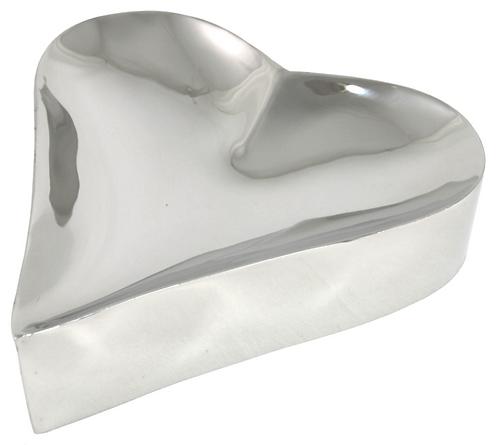 Metal Heart Shaped Dish