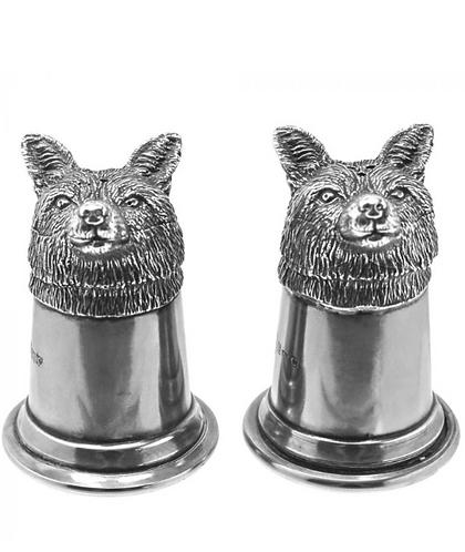 Fox Head Salt & Pepper Set