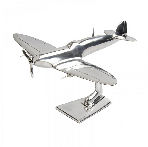 Aluminium Spitfire Sculpture