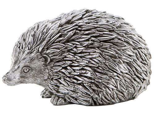 Silver Hedgehog Sculpture