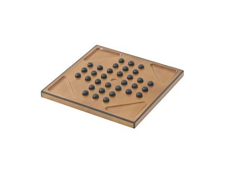 TimeLess Solitaire Game Box Walnut Trim Gloss Finish