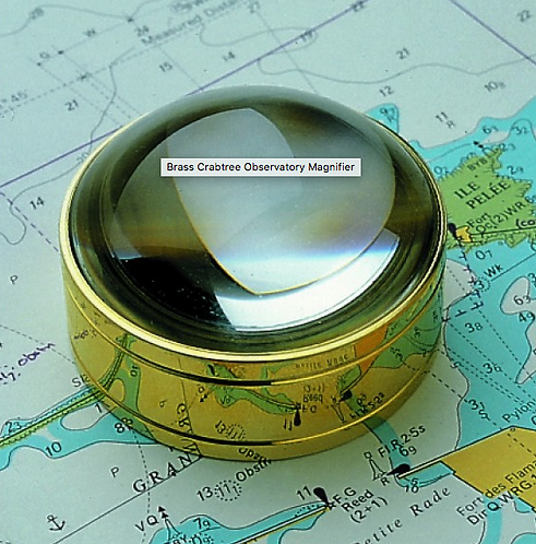 Brass Crabtree Observatory Magnifier