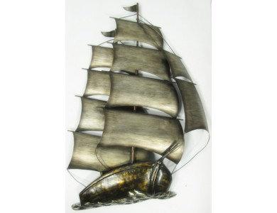 Wall Art Sailing Boat (Medium)