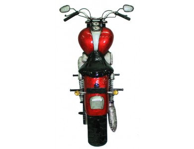 TimeLess W/A Red Motorbike