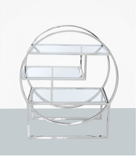 Steel Tier Round Shelving Unit