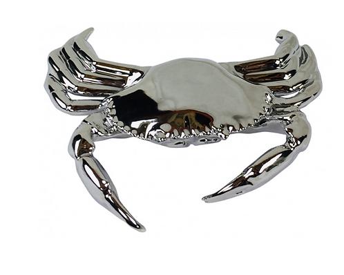 Silver Crab Ornament