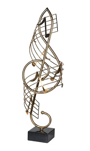 Large Musical Note Ornament