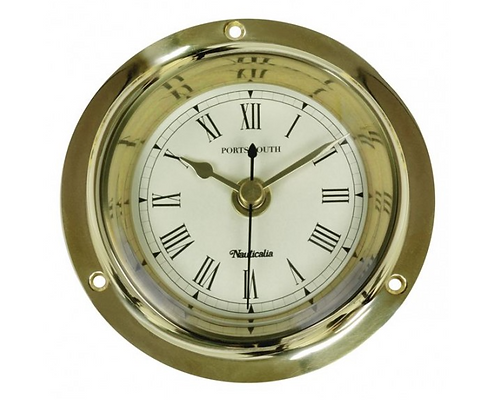 Brass Portsmouth Clock