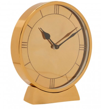 Kensington Townhouse Gold Wall Clock