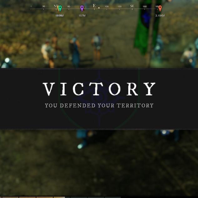 Victory - Successful Defense  (War 3)
