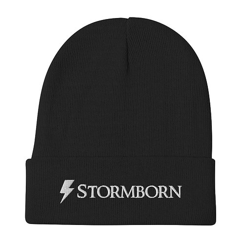 Stormborn Embroidered Beanie