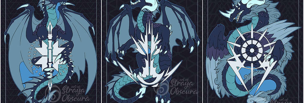 Destiny Subclass Dragons - ARC