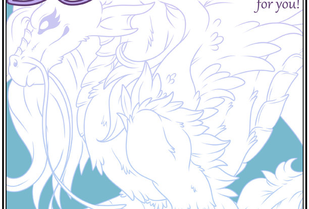 Mostly Dragons Coloring Book