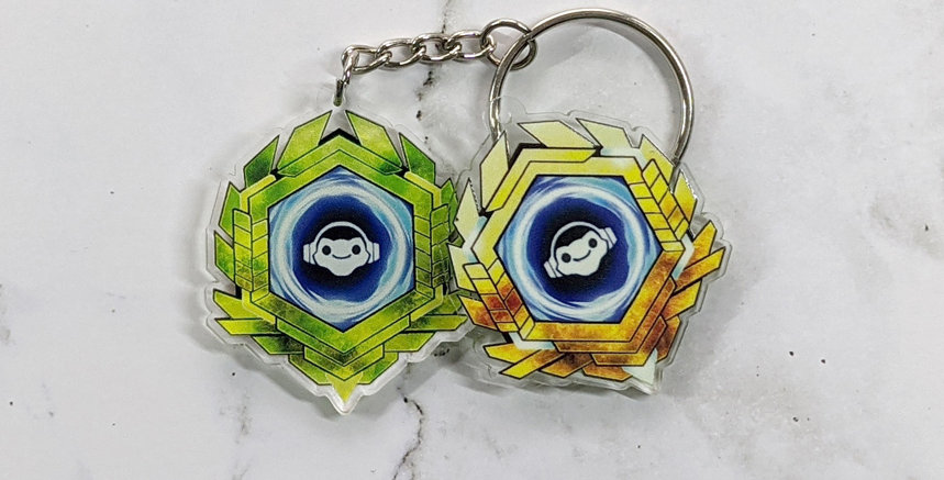 """OW Ultimate 2"""" Charm - SUPPORT"""