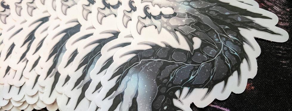 "3"" Whisper Dragon Sticker"