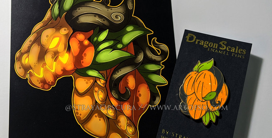 DragonScales: Pumpkin