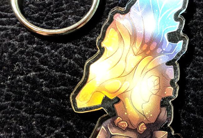 "2.5"" Azerite Crystal Charm"