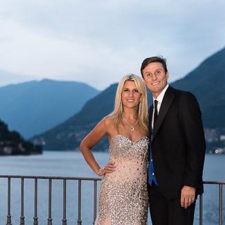Paula e Javier Zanetti - Party Privato