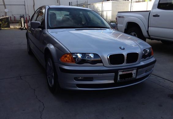 BMW 330i after
