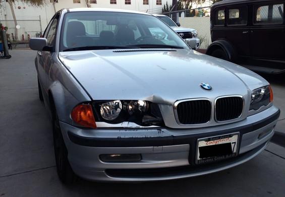 BMW 330i before