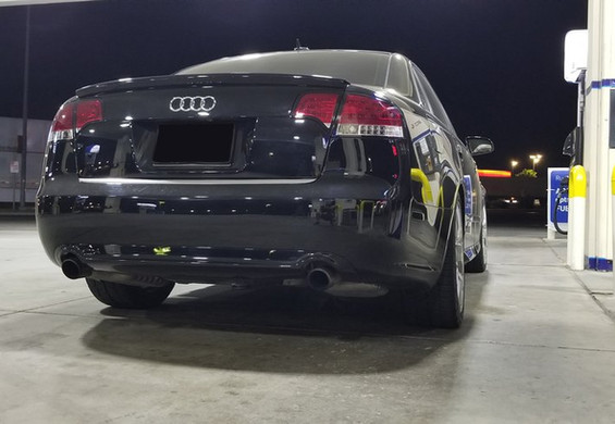 Audi A4 after
