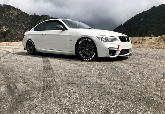 2012 BMW 335i after modifications