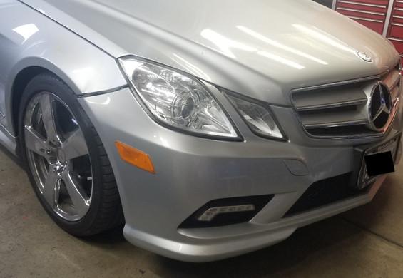 Mercedes E550 before