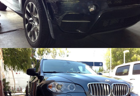 2012 BMW X5 before/after