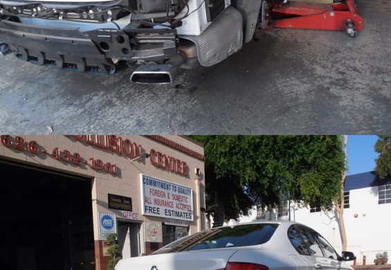 2011 BMW 550i during/after